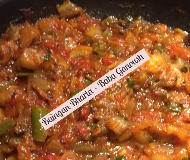 Eggplant Aubergine Spread Baingan Bharta – Baba Ganoush