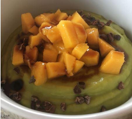 Avacado Mango Vegan Dessert Sugar Free