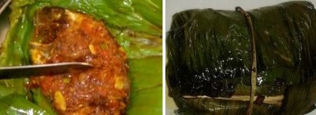Banana Leaf Grilled Fish Parcel - Kerala Meen Pollichathu Recipe