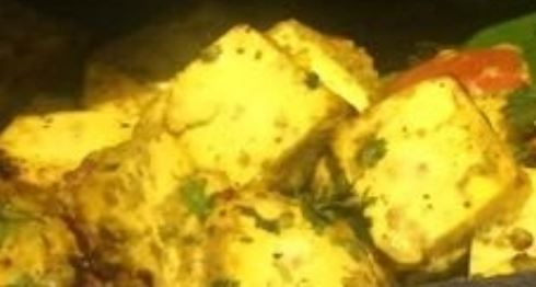 Home made cottage Cheese Pudina Paneer Recipe