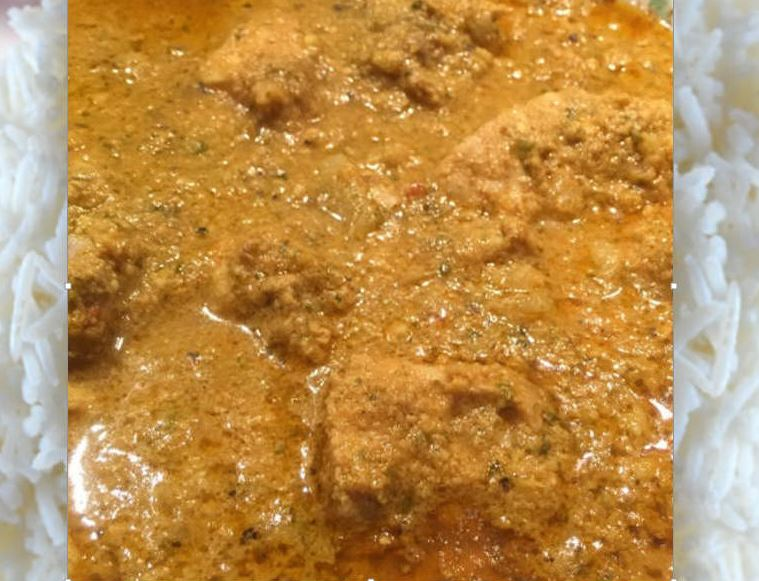 Recipe for Mughlai Chicken Korma a Traditional Indian Dish . A Delicious and Flavorful Curry with Aromatic Spices and Herbs.