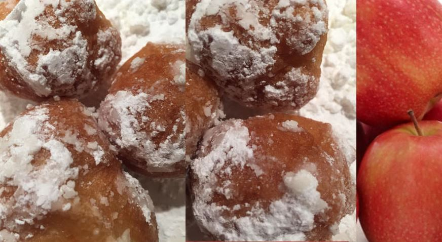 Oliebollen - Apple Beignets Recipe