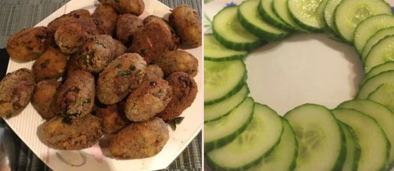 Recipe for South Indian Kerala style Beef Cutlets A Crunchy Snack with Salad