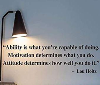 Ability and Attitude