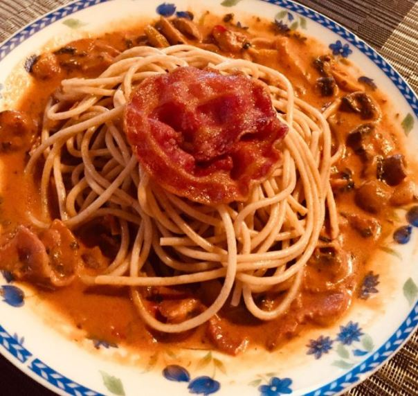 Recipe for Mushroom Stroganoff