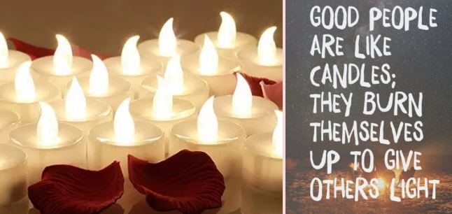 Good People like candles