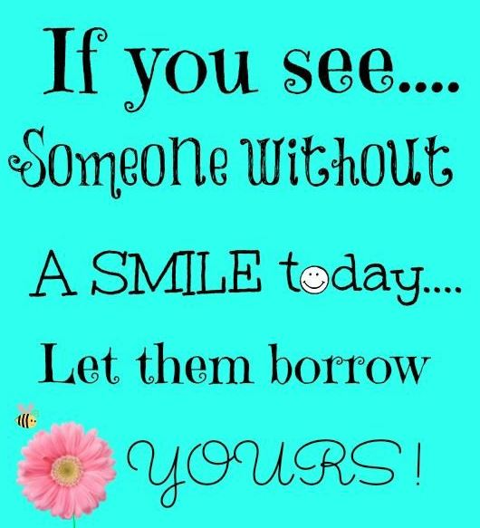 smile today