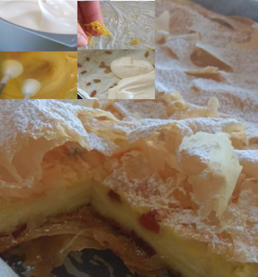 Plăcintă cu iaurt - Yogurt Pie