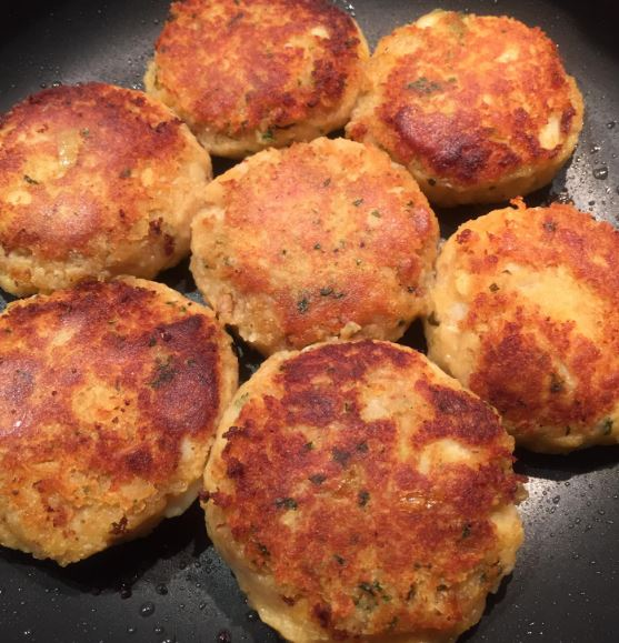 Potato Lentil Patties