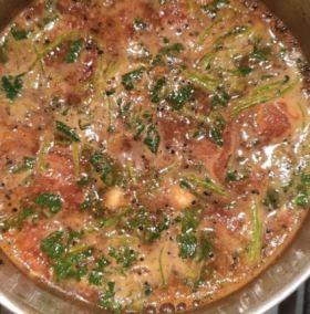 South Indian Tomato Soup - Rasam